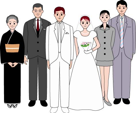 結婚式、挨拶